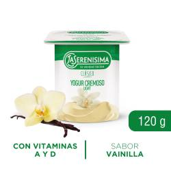 Yogur Clásico Descremado Vainilla La Serenísima x 120 g.