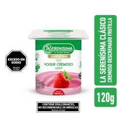 Yogur Clásico Descremado Frutilla La Serenísima x 120 g.