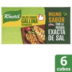 Caldo de Gallina Knorr x 57 g.
