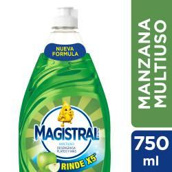 Detergente Liquido Multiuso Manzana X5 Magistral x 750 cc.