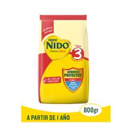 Leche en Polvo Etapa 3 Prebio 1 Nido x 800 g.