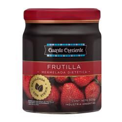 Mermelada Stevia Frutilla Cuarto Crec x 300 g.