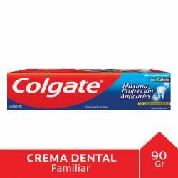 Crema Dental Máxima Protección Anticarie Colgate x 90 g.
