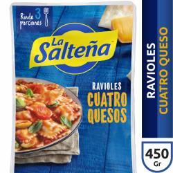 Ravioles Cuatro Quesos La Salteña x 450 g.