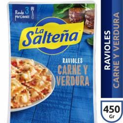 Ravioles de Carne y Verdura La Salteña x 450 g.