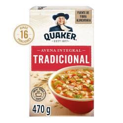 Avena Integral Tradicional Quaker x 470 g.
