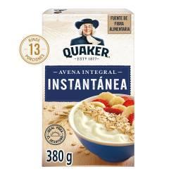 Avena Integral Instantanea Quaker x 380 g.