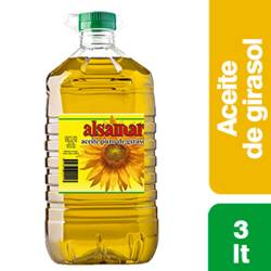 Aceite de Girasol Alsamar x 3 Lt.