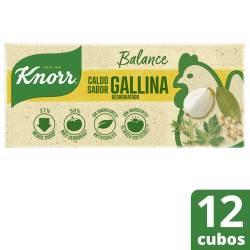 Caldo de Gallina Balance Knorr x 114 g.