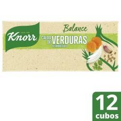 Caldo de Verduras Balance Knorr x 114 g.