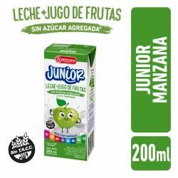 Bebida Láctea UAT Leche con Jugo de Manzana Junior La Serenísima x 200 cc.