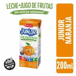 Bebida Láctea UAT Leche con Jugo de Naranja Junior La Serenísima x 200 cc.