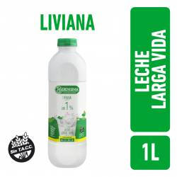 Leche LV Parcialmente Descremada Liviana 1% Bot La Serenísima x 1 Lt.