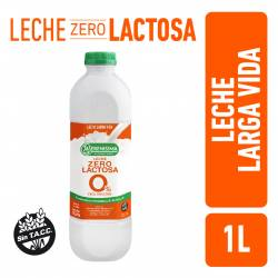 Leche Parcialmente Descremada 0% Lactosa Bot La Serenísima x 1 Lt.