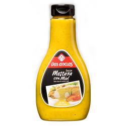 Salsa Mostaza con Miel Dos Anclas x 405 g.