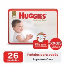 Pañal XXG Supreme Care Híper Huggies x 26 un.