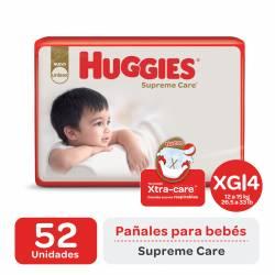 Pañal XG Supreme Care Híper Huggies x 52 un.