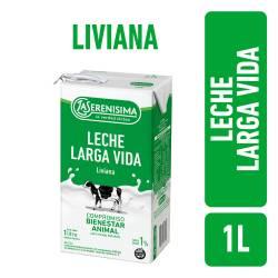 Leche LV Parcialmente. Descremada Liviana 1% La Serenísima x 1 Lt.