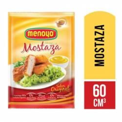 Mostaza Doy Pack Menoyo x 60 g.