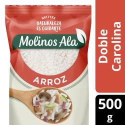 Arroz Doble Carolina Molinos Ala x 500 g.