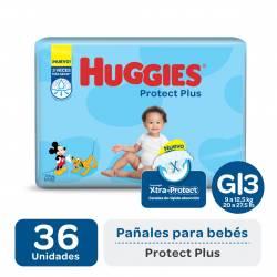 Pañal G Protect Plus Híper Huggies x 36 un.