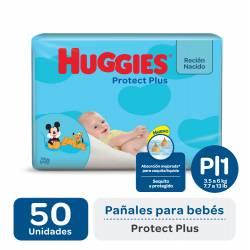 Pañal P Protect Plus Híper Huggies x 50 un.