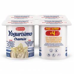 Yogur Entero Cremix Vainilla Yogurisimo x 4 un. 480 g.