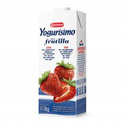 Yogur Bebible Frutilla Tetra Yogurisimo x 1 Lt.