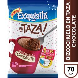 Polvo 1 Min Chocolate Exquisita x 55 g.