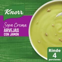 Sopa Crema de Arvejas con Jamón Knorr x 64 g.