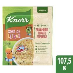 Sopa de Vegetales Knorr con Letras 10 x 105 gr.