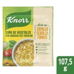 Sopa de Vegetales Knorr con Caracolitos 10 x 105 gr.