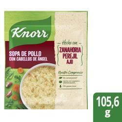 Sopa de Pollo Knorr con Cabello de Ángel 10 x 105 gr.