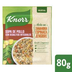Sopa de Pollo c/Dedalitos Int Knorr x 80 g.
