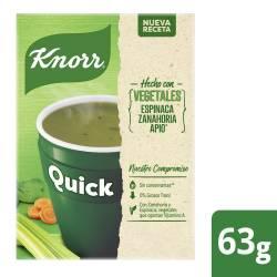 Sopa de Vegetales Quick Knorr x 63 g.