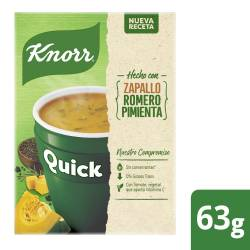 Sopa Quick Knorr Zapallo sobres x 5 un.