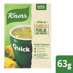 Sopa Quick Knorr Choclo sobres x 5 un.