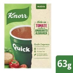 Sopa Quick Knorr Tomate sobres x  5 un.