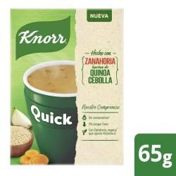 Sopa Quick Knorr Zanahoria sobres x  5 un.