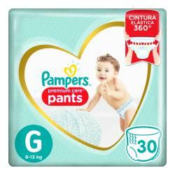 Pañal G Pants Premium Care Pampers x 30 un.