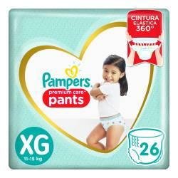Pañal XG Pants Premium Care Pampers x 26 un.