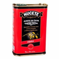 Aceite de Oliva Extra Virgen Lata Nucete x 500 cc.