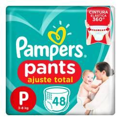Pañal P Pants Ajuste Total Pampers x 48 un.