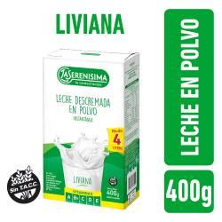 Leche en Polvo Descremada Est La Serenísima x 400 g.