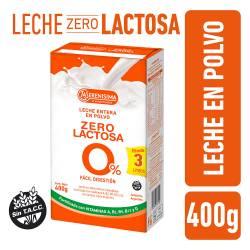 Leche en Polvo Zero Lactosa Est La Serenísima x 400 g.