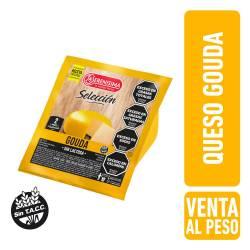 Queso Gouda s/Lactosa Trozado La Serenísima x 1 Kg.