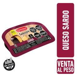 Queso Sardo s/Lactosa Trozado La Serenísima x 1 Kg.