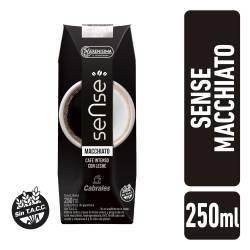 Bebida Láctea a Base de Leche Macchiato Sense x 250 cc.