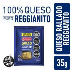Queso Rallado Reggianito La Serenísima x 35 g.