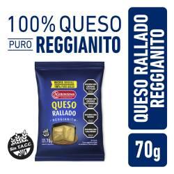 Queso Rallado Reggianito La Serenísima x 70 g.